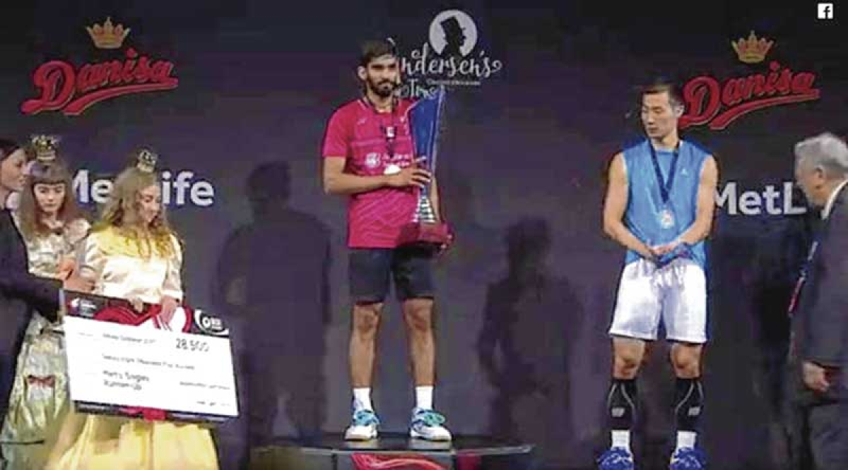 Srikanth blows away Lee, wins Denmark Open in 25 minutes