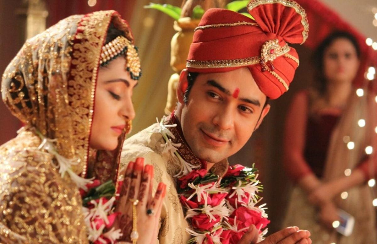 Siddharth and Nandini got hitched on&TV show 'Vani Rani'