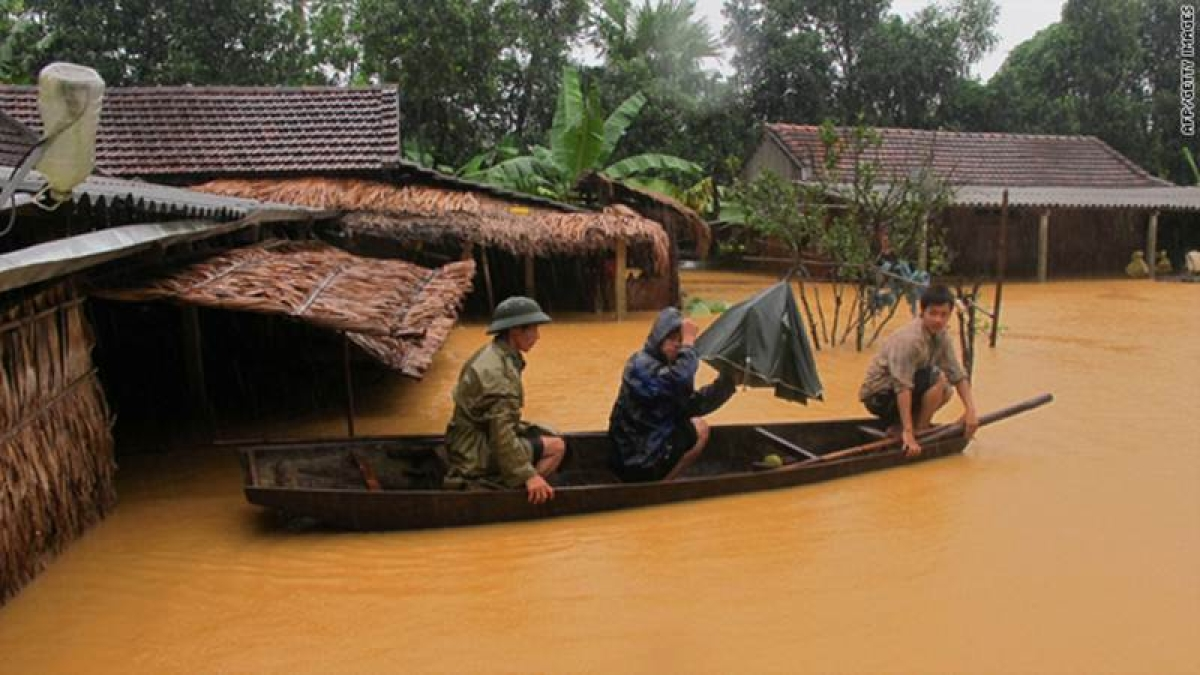 37 killed in Vietnam floods, landslides