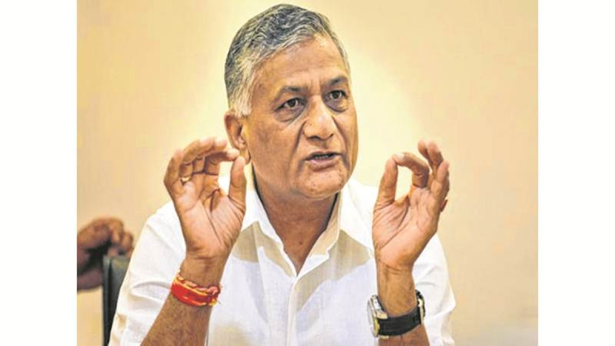 'Low interests on loans encourage Indians abroad', says VK Singh