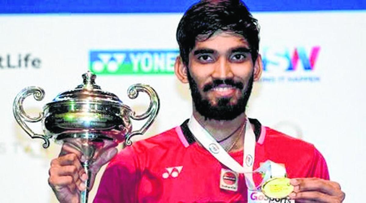 Srikanth now world No. 2