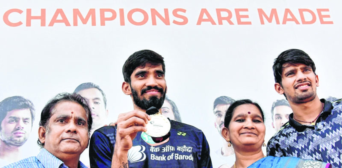 Srikanth recommended for Padma Shri by former Sports Minister Goel