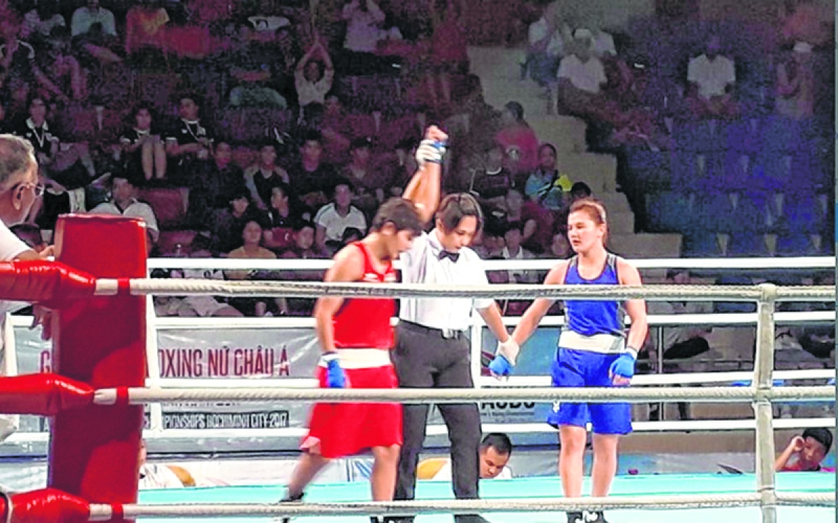 Mary Kom, Sonia Lather into final
