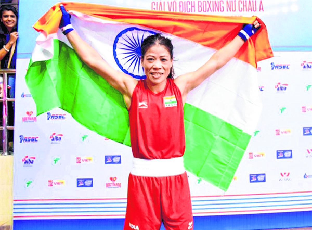 'Magnificent Mary' claims historic fifth gold at Asian Championships
