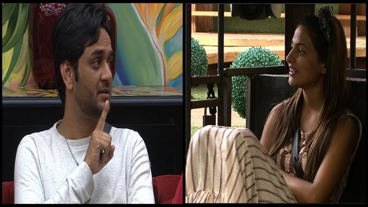 Bigg Boss 11: Hina Khan gets scared of Vikas Gupta while Sabyasachi becomes new captain; Day 40 drama