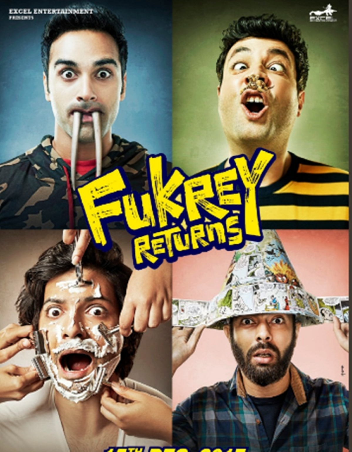 'Fukrey Returns' Film Review: Thankfully with entertainment