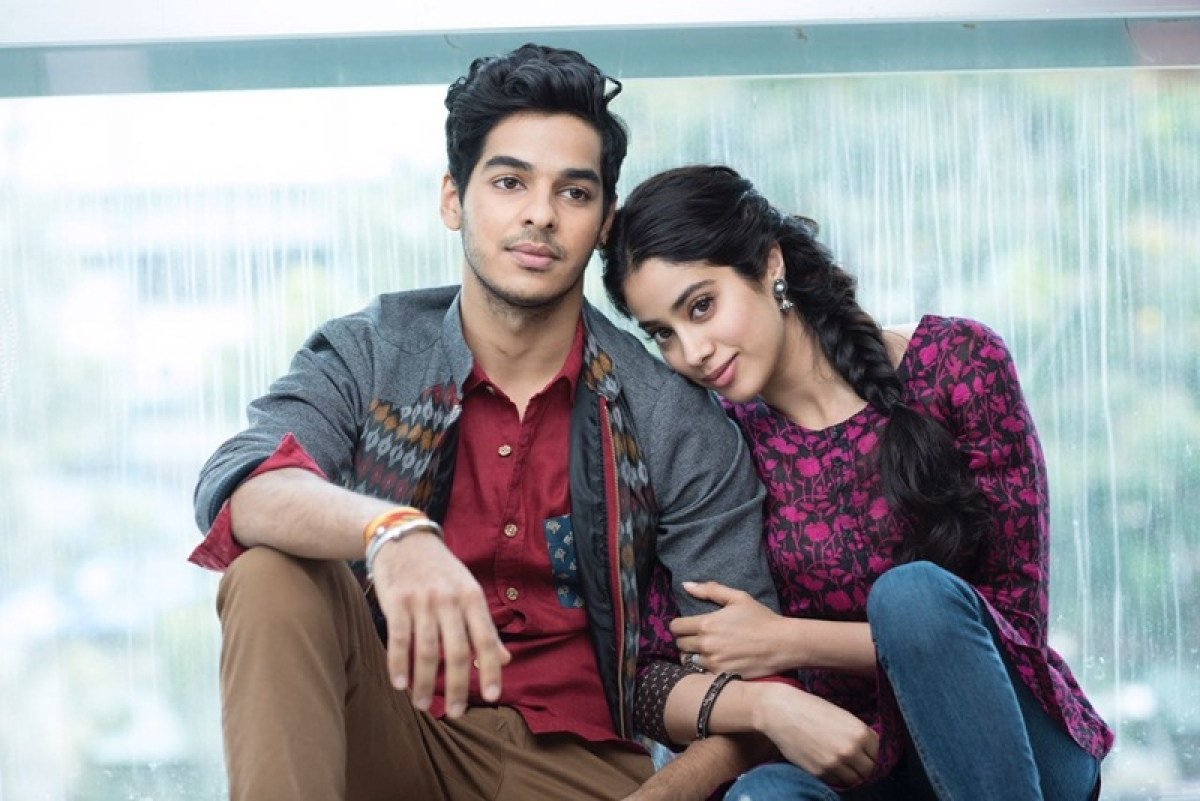 Karan Johar trolled for nepotism again, after releasing first look of Dhadak featuring Jhanvi Kapoor and Ishan Khattar