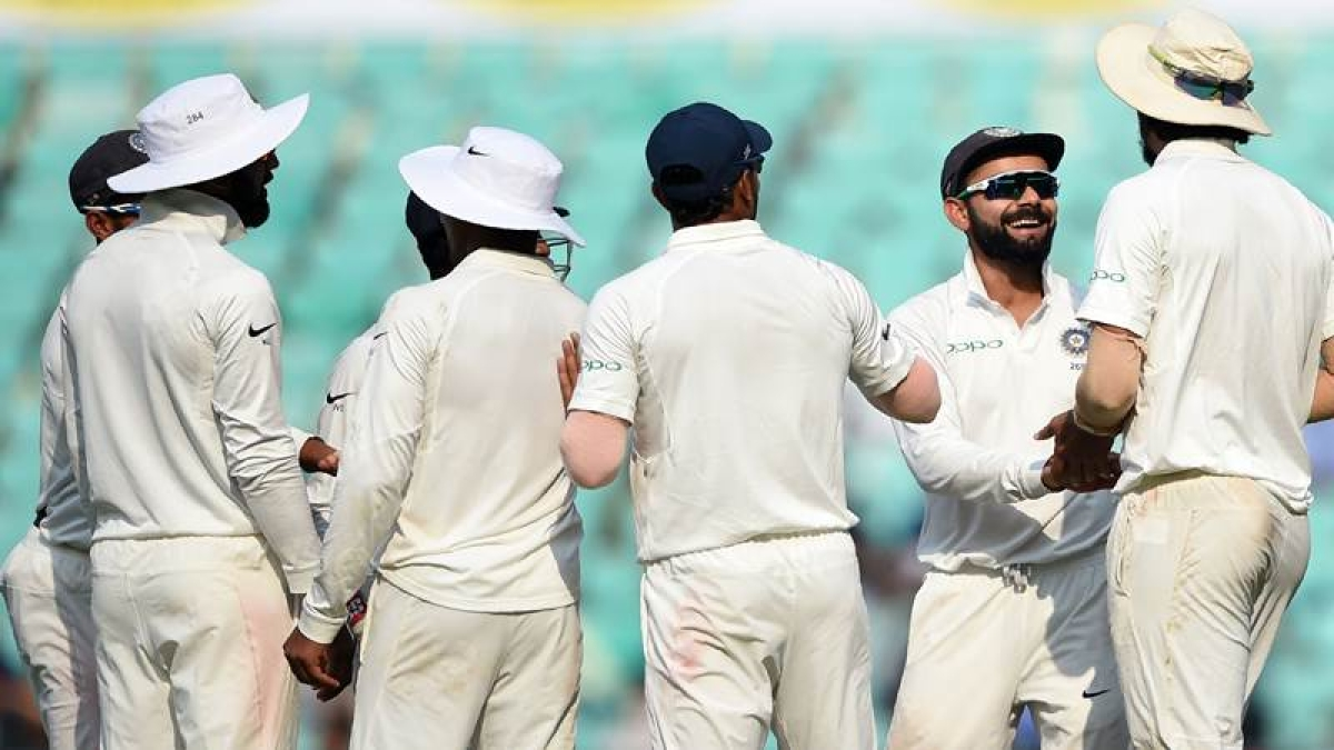 India vs Sri Lanka 2nd Test Day 1: Visitors all out for 205