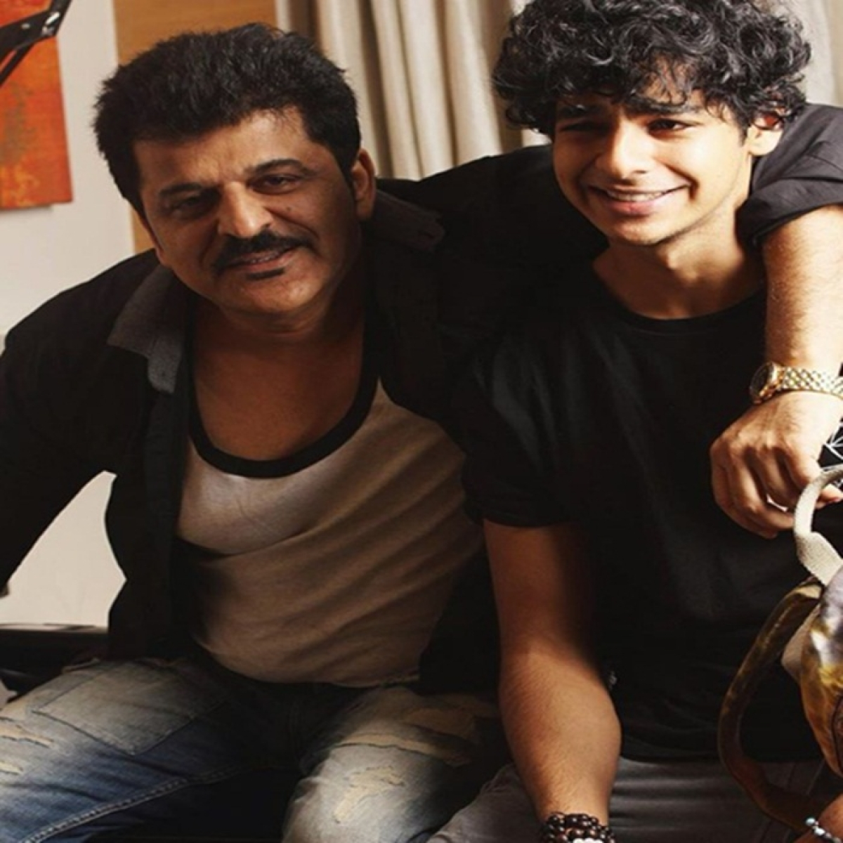 'Dhadak' star Ishaan Khatter's father defends charges against 'Baap Of Nepotism' Karan Johar