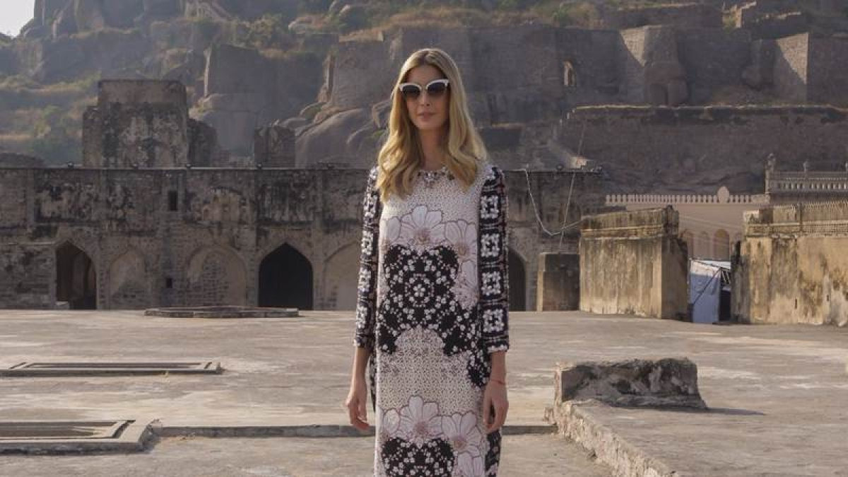 Day 2 in Hyderabad: Ivanka Trump concludes India trip with visit to Golconda Fort