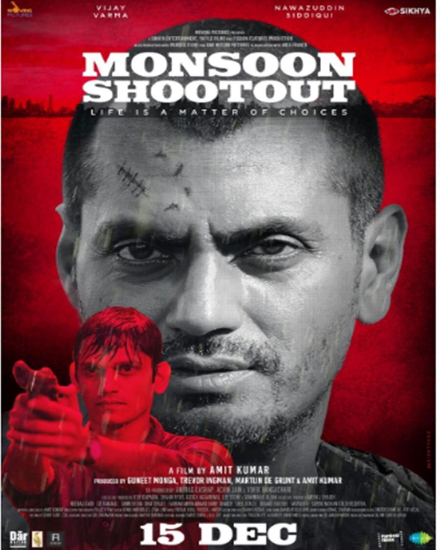 Monsoon Shootout Poster: Nawazuddin Siddiqui looks his sinister best