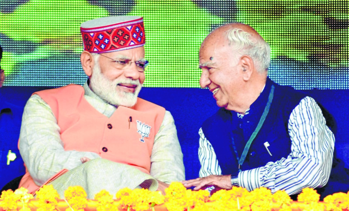 PM Modi in Himachal: Says Congress a 'laughing club', looting public money