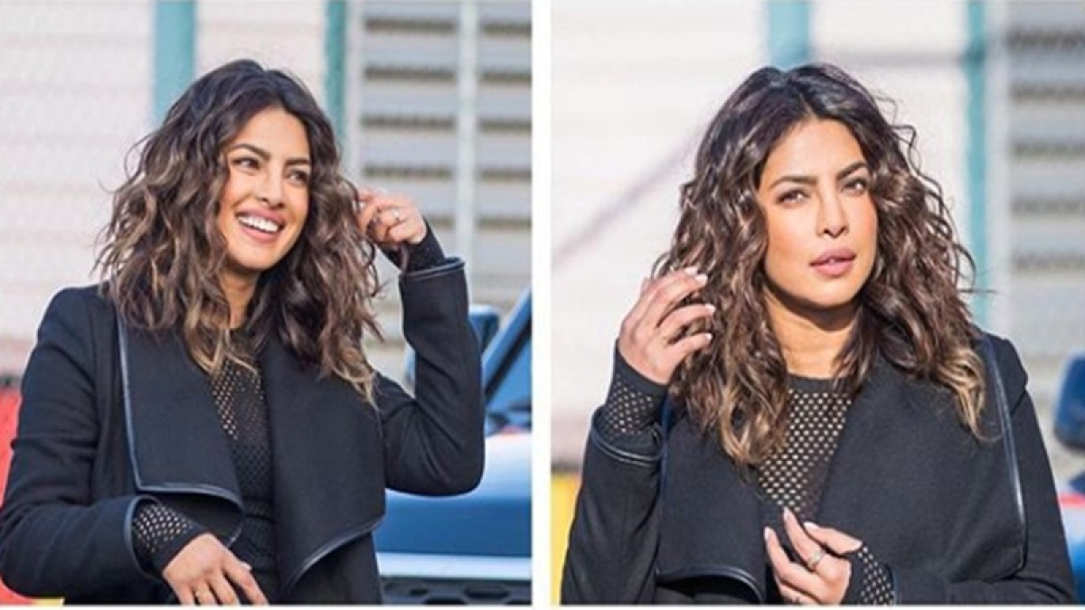 Priyanka Chopra makes another style statement with her haircut for Quantico 3
