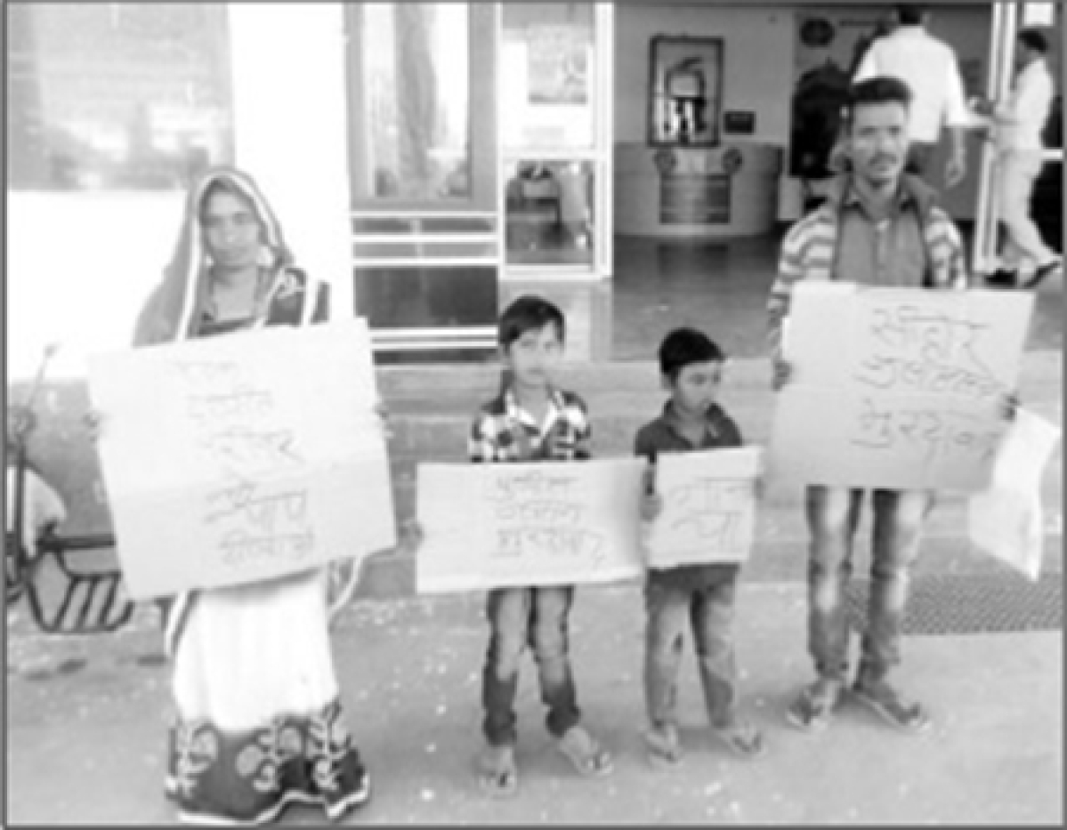 Bhopal: Sarpanch thrashes Dalit family for not paying bribe