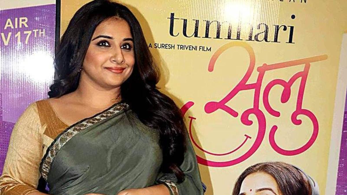 Vidya Balan expresses her gratitude to Producer Atul Kasbekar