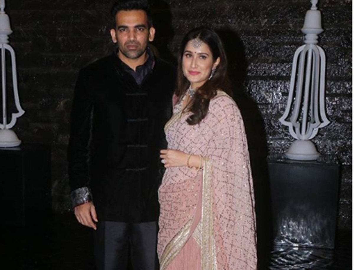 After wedding, Zaheer Khan and Sagarika Ghatge throw party for B-Town and cricketer friends; See Pics