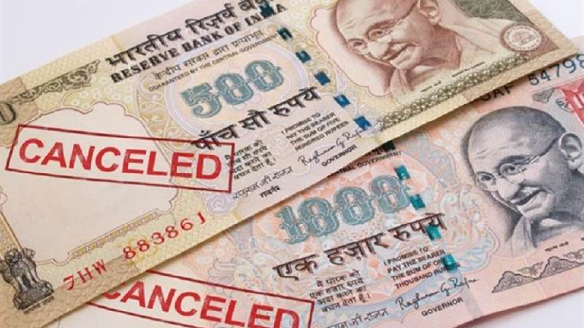 On This Day in History! November 8, 2016 – Indian government orders demonetisation of Rs 500, Rs 1000 banknotes
