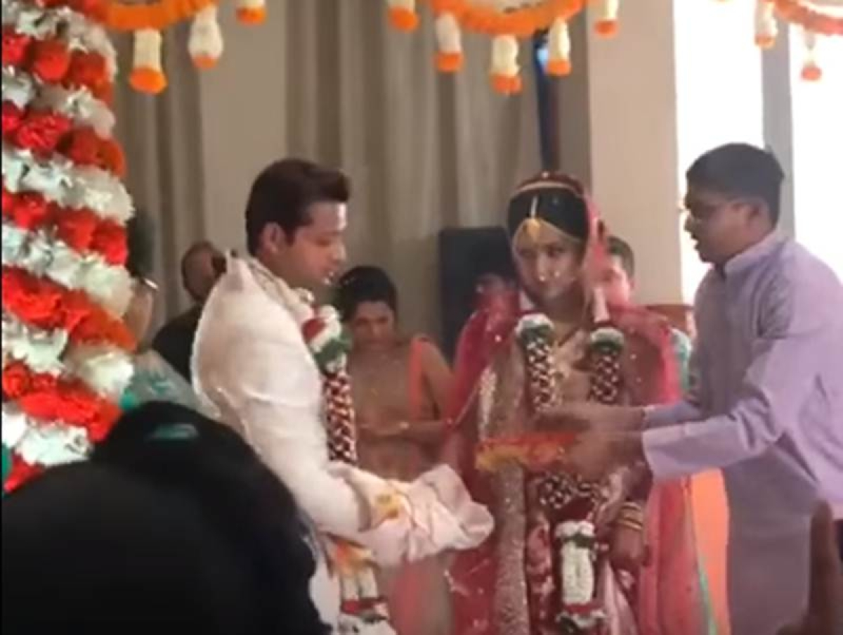 In video: Actress Ishita Dutta ties the knot with Rishton Ka Saudagar – Baazigar co-star Vatsal Sheth