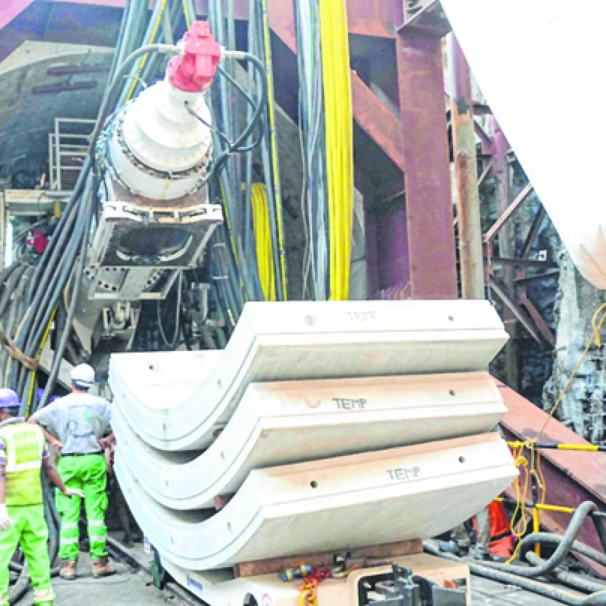 Marol Naka-MIDC-SEEPZ tunnelling works over