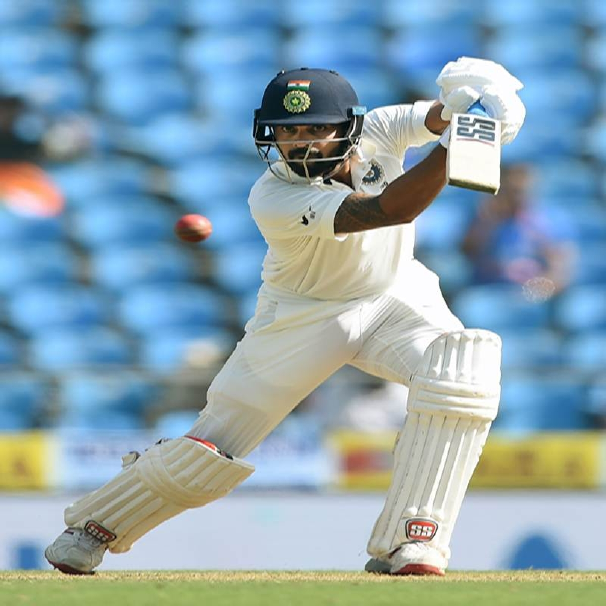 India vs Sri Lanka Nagpur Test: Vijay, Pujara guide India to 97/1 on Day 2