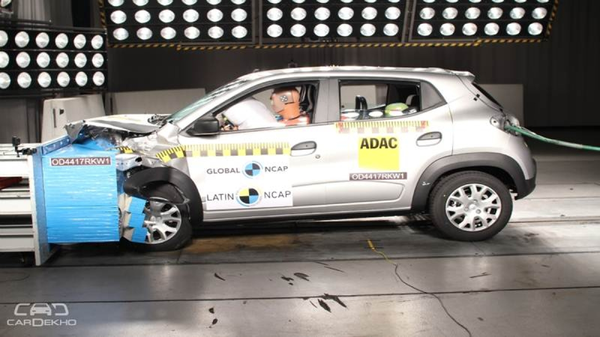 Renault Kwid Scores 3 Stars In Latin NCAP Crash Tests