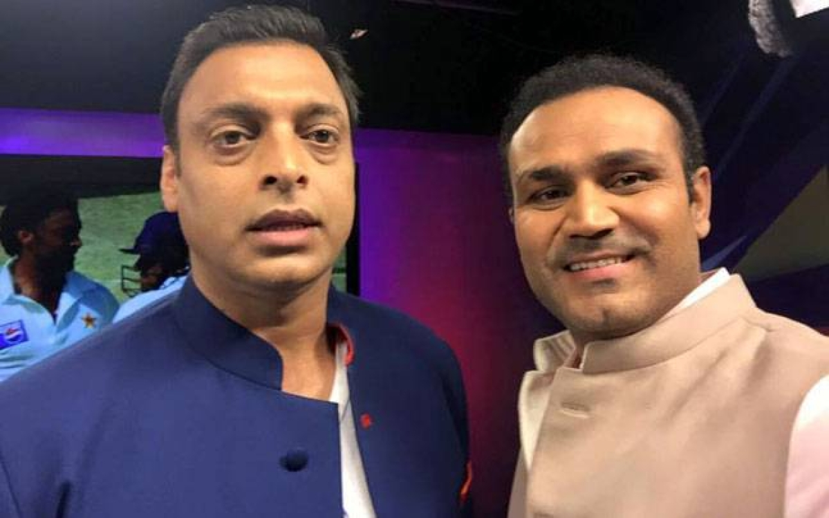 Virendra Sehwag will take on Shoaib Akhtar in Swiss Alps