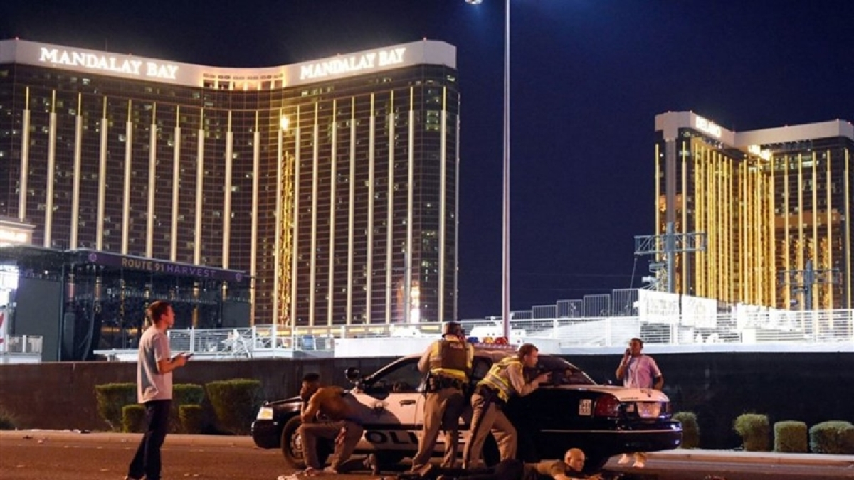 Coroner: Gunfire killed all 58 victims in Las Vegas shooting