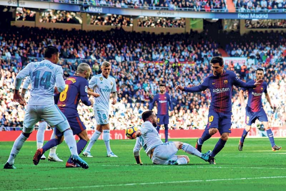 Barcelona humbles Real Madrid –Moves 14 points clear and closer to La Liga title