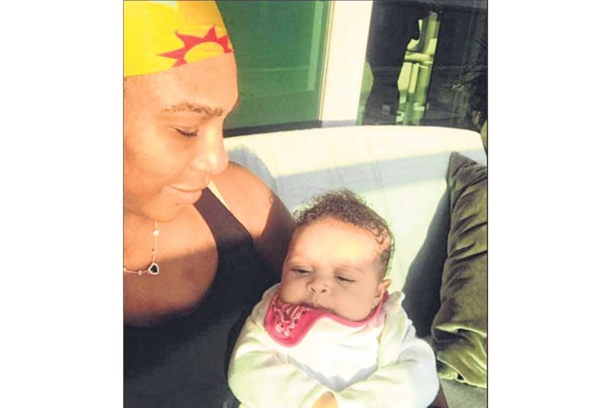Mom in action: Serena to get back on court at Abu Dhabi