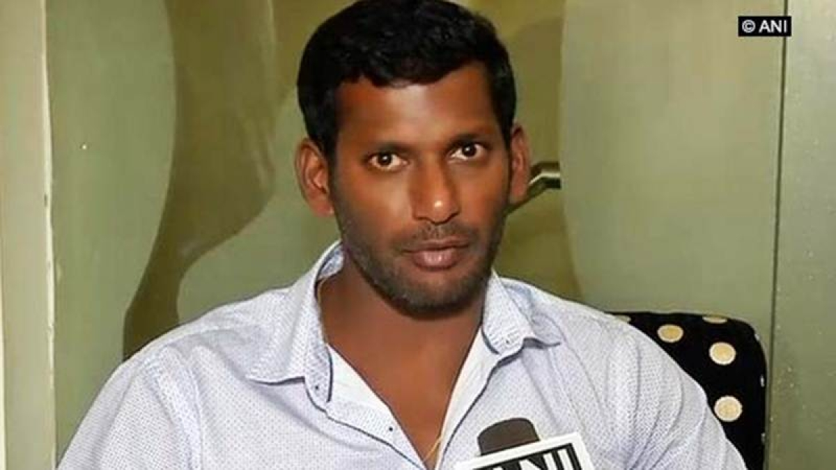 Actor-cum-producer Vishal detained by police for trying to break into TNFPC office