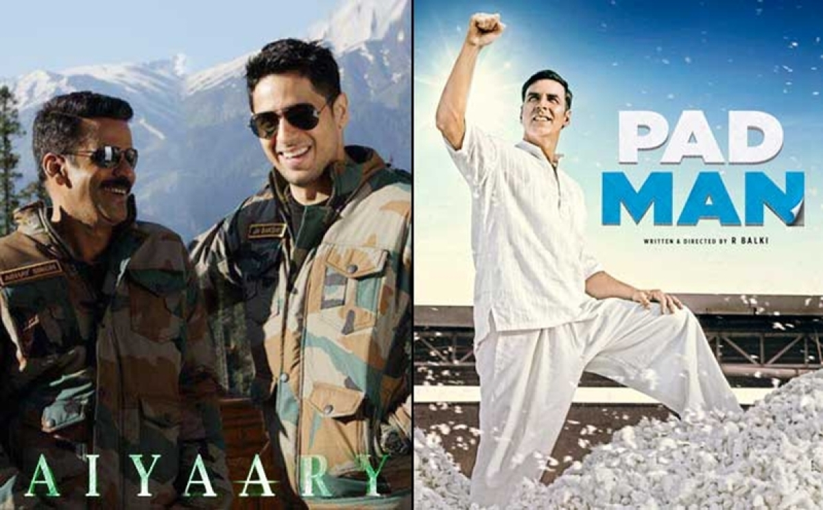 Aiyaary and Padman trailers to clash in theatres, with Tiger Zinda Hai release!