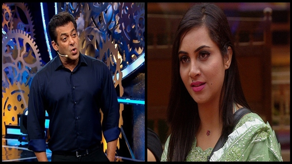 Bigg Boss 11 Weekend Ka Vaar: Salman Khan lashes out at Arshi Khan for disrespecting Shilpa Shinde's mother