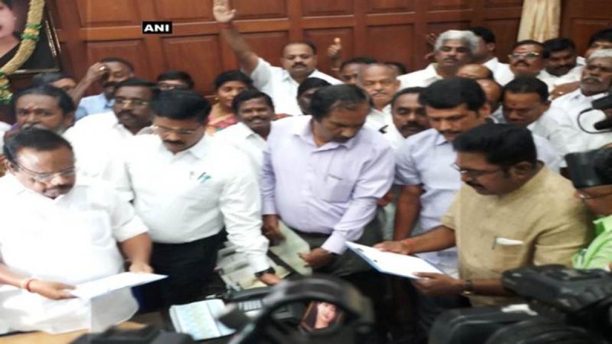 Tamil Nadu: Dinakaran takes oath as MLA from RK Nagar