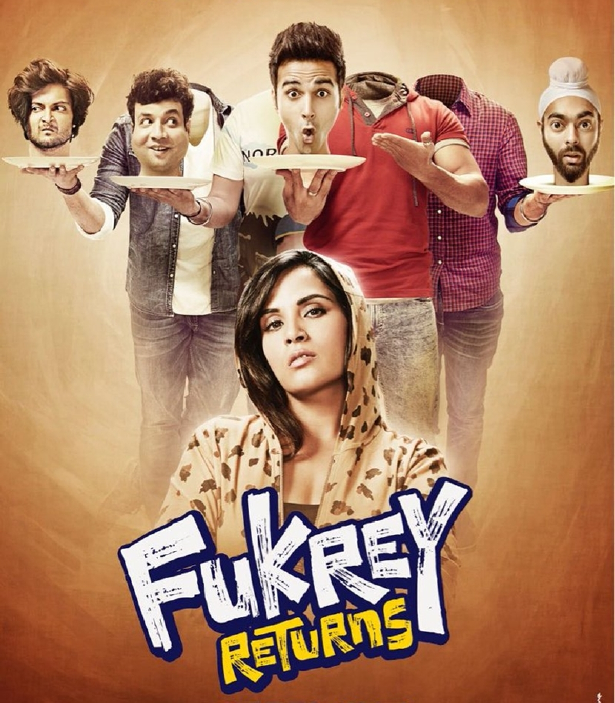 WOW! Fukrey Returns crosses 70 crores at the box office!