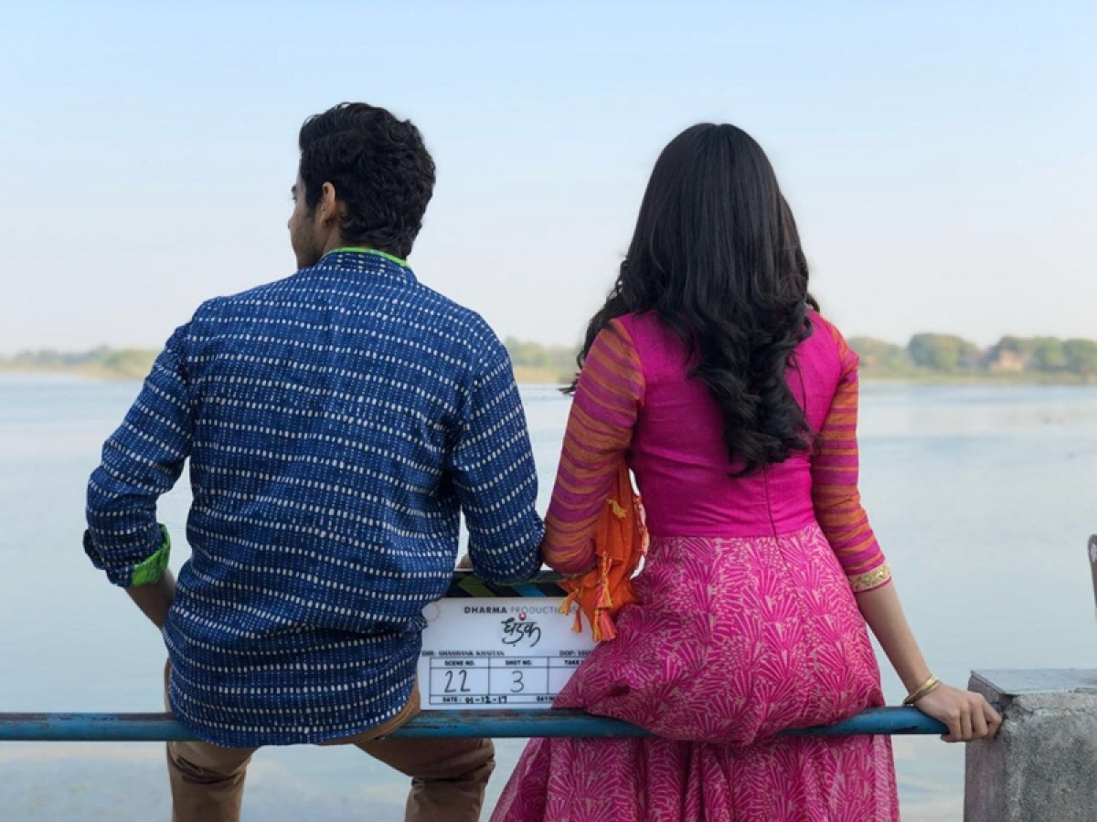 Dhadak First Poster: Check out the looks of newbies Ishaan Khattar and Janhvi Kapoor