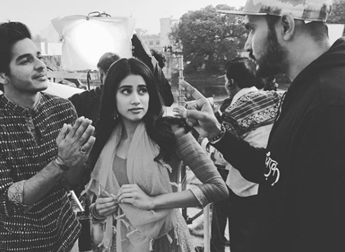 When Ishaan and Janhvi got scared of director Shashank Khaitan on sets of Dhadak