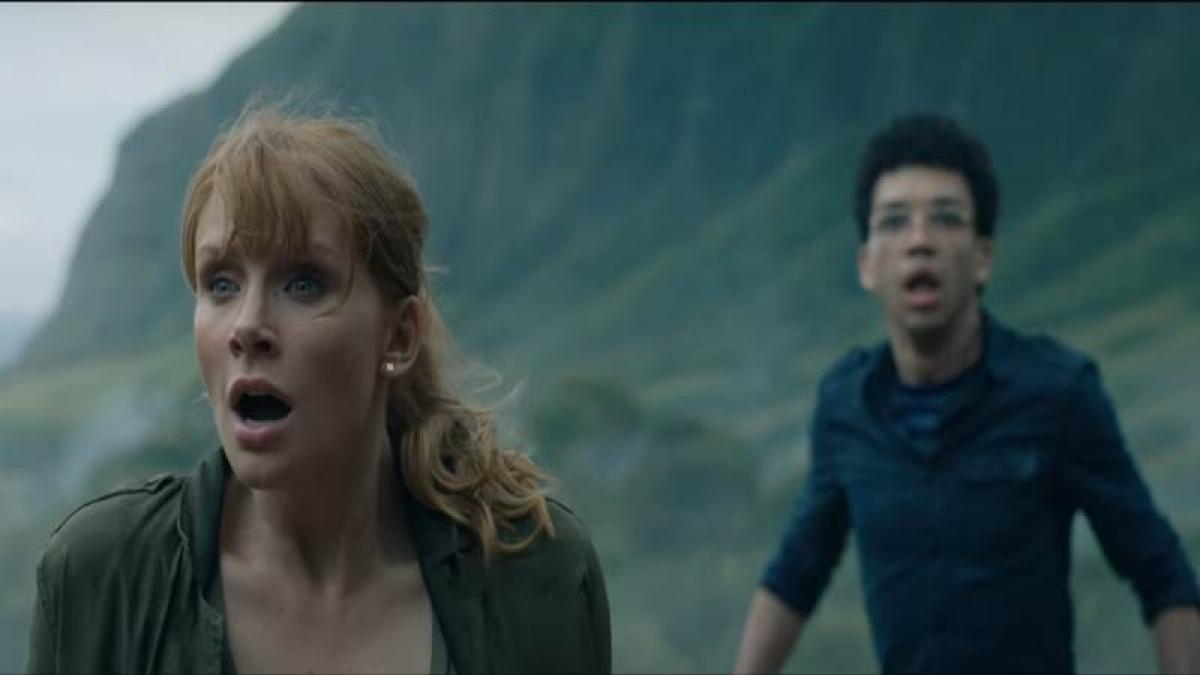 Jurassic World' 2 teaser: Chris Pratt, Bryce Dallas Howard run for their lives