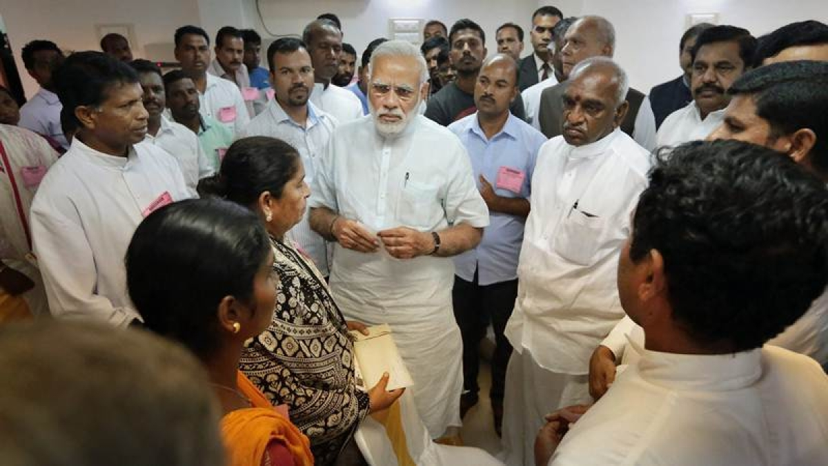 Cyclone Ockhi: We are all with you, PM Modi assures Kerala fisherfolk