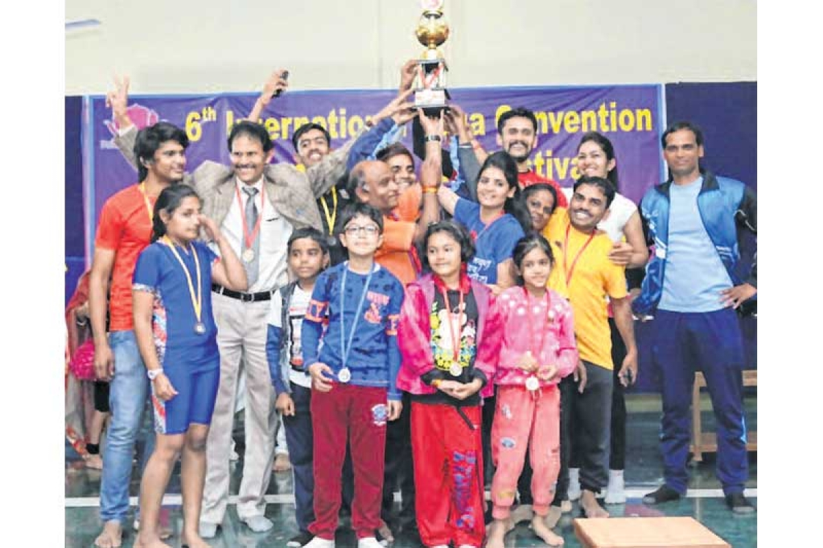 Indore: International convention helps discover miracles of yoga