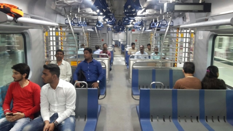 Mumbai: Ticket-less BJP activists barge into AC local train, forced to detrain