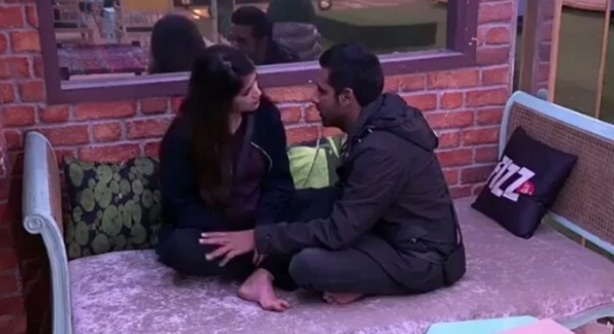Bigg Boss 11: Video shows Puneesh Sharma touching Bandgi Kalra without her permission, getting scolded