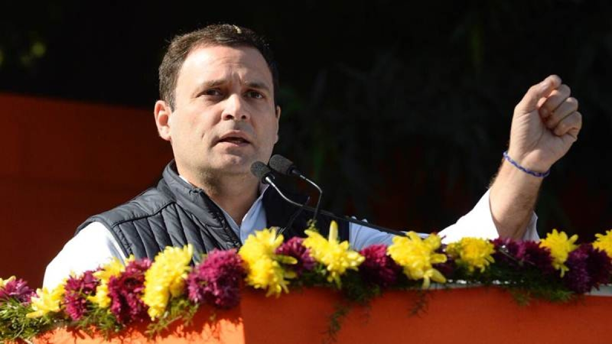 Rahul Gandhi mocks government over 'Make in India' initiative