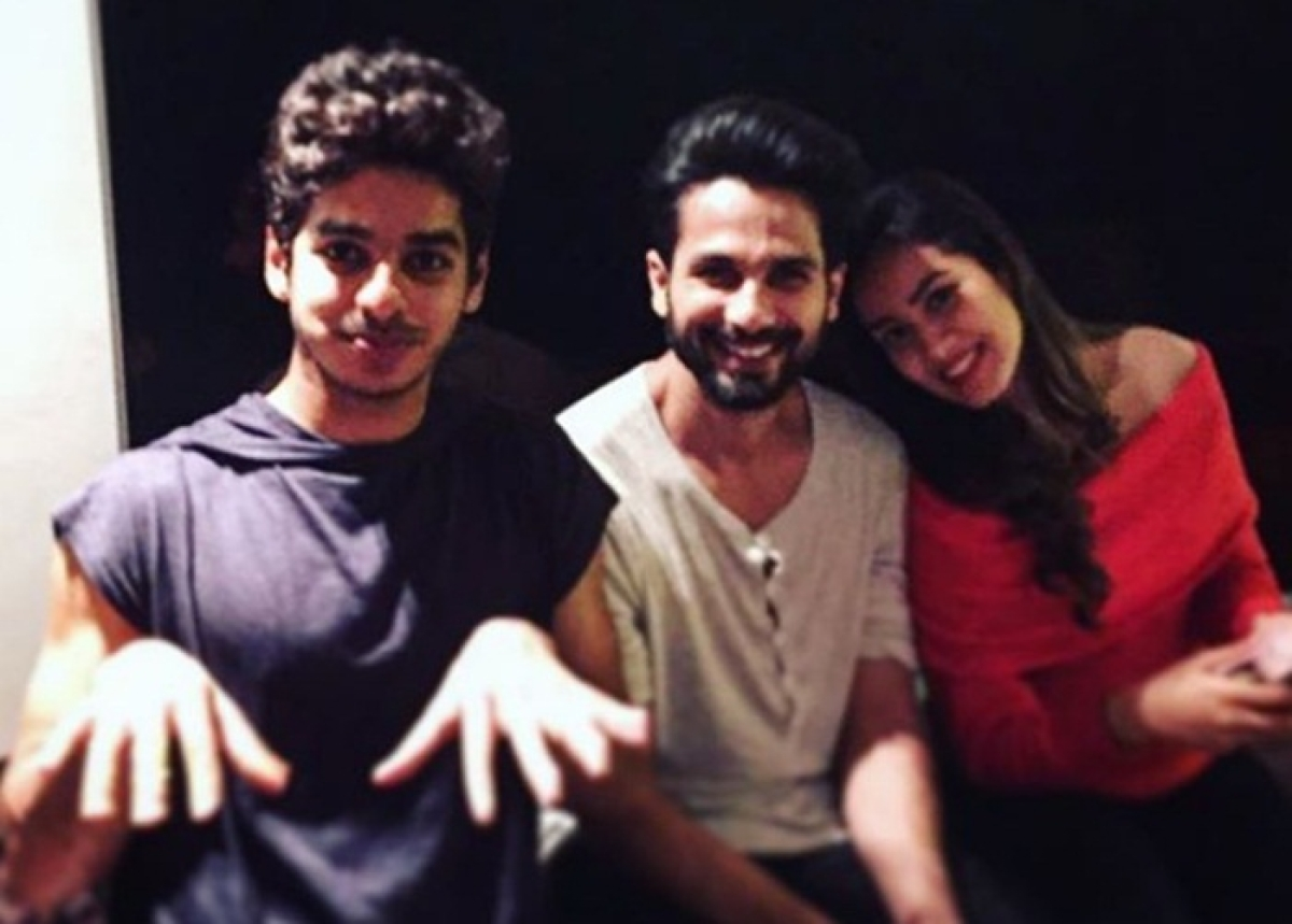 In Pictures: Shahid Kapoor, Mira Rajput have fun time with Ishaan Khattar