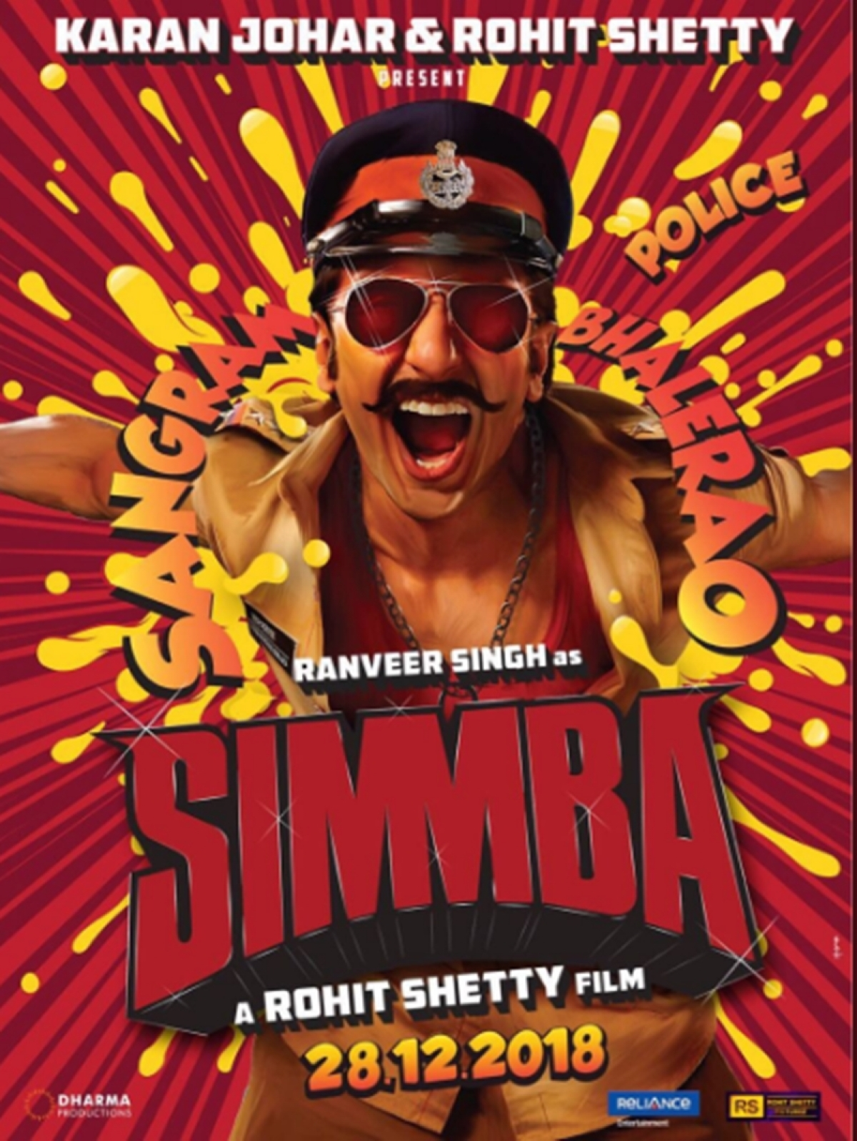 First Look: Ranveer Singh finally reveals his notorious surprise; it's his upcoming film 'Simmba'