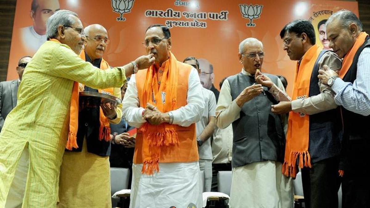 Gujarat: Vijay Rupani to continue as CM, Nitin Patel to stay as his deputy