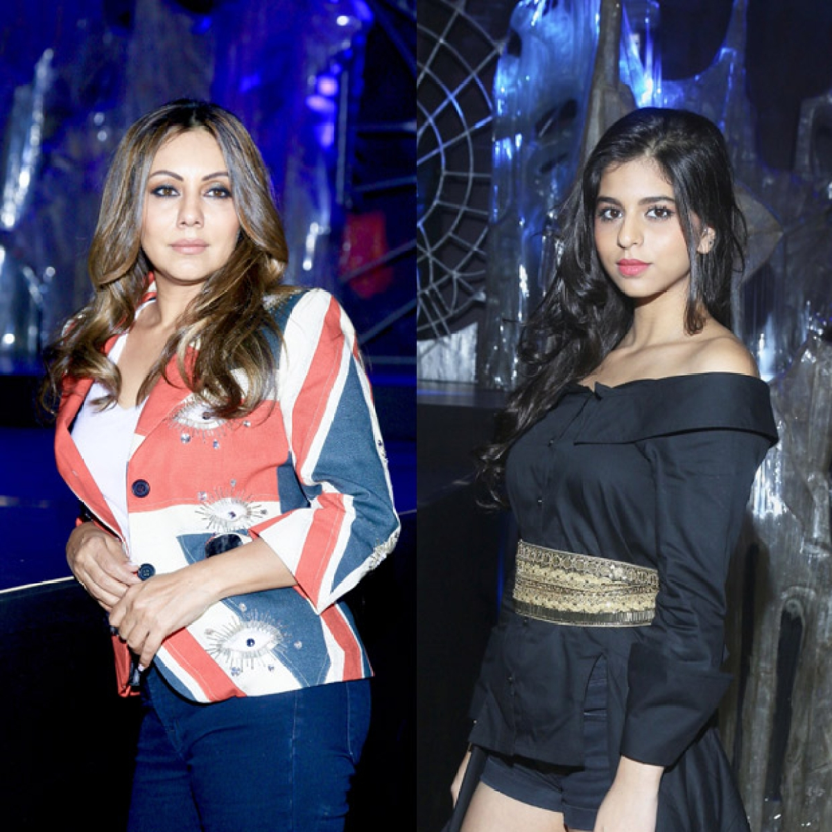 WOW! Suhana Khan stuns in an all-black ensemble with mother Gauri Khan