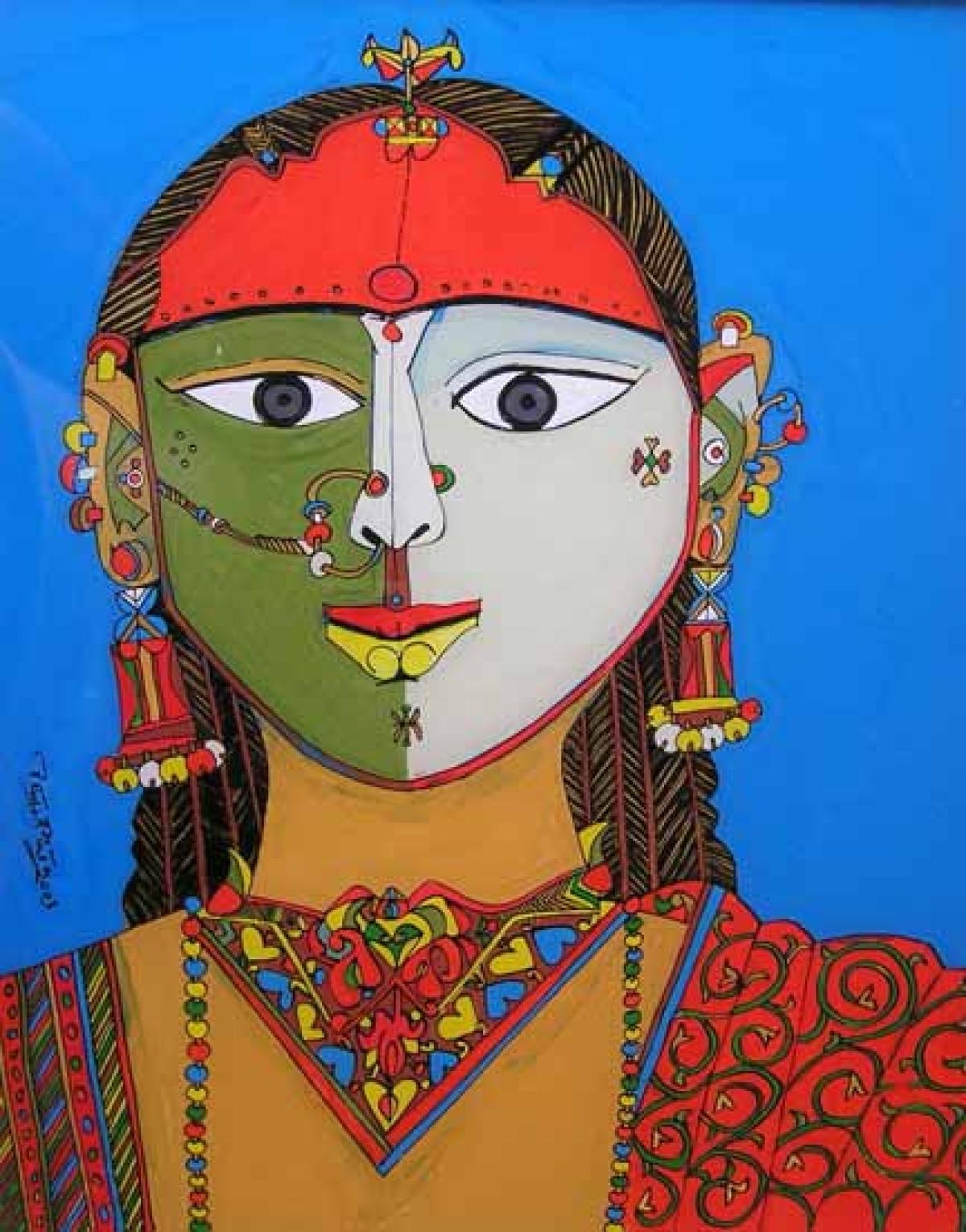 Laxma Goud: Bringing eroticism alive with every brush-stroke