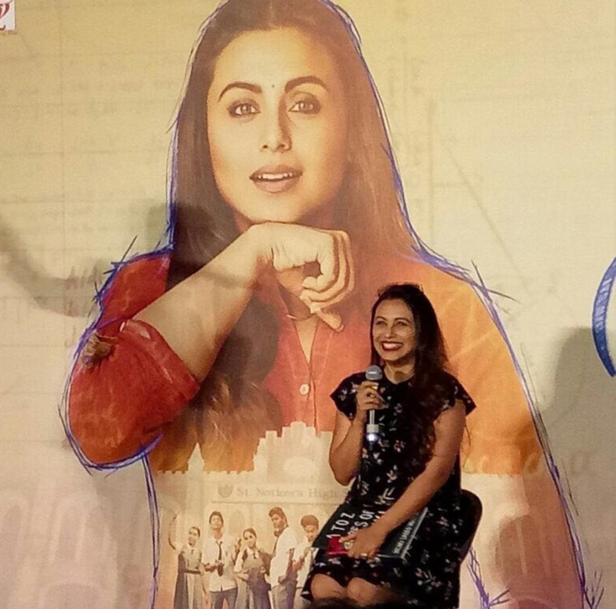 Speech impairment not a subject but reality: Rani Mukerji