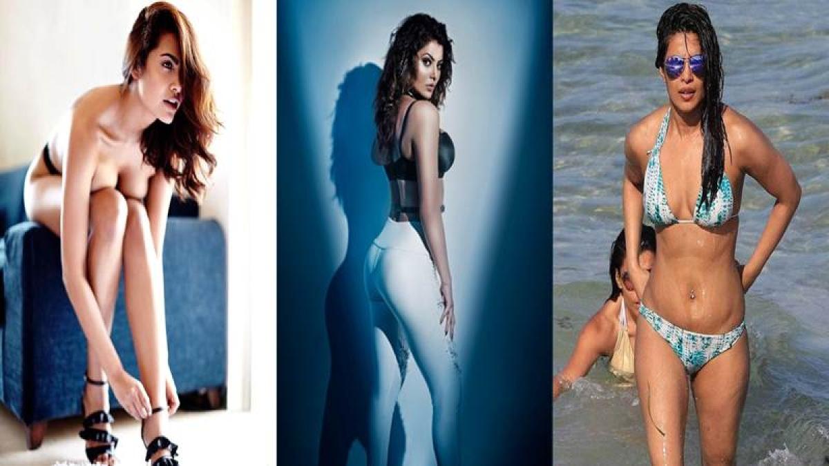 hot girl bikini model topless