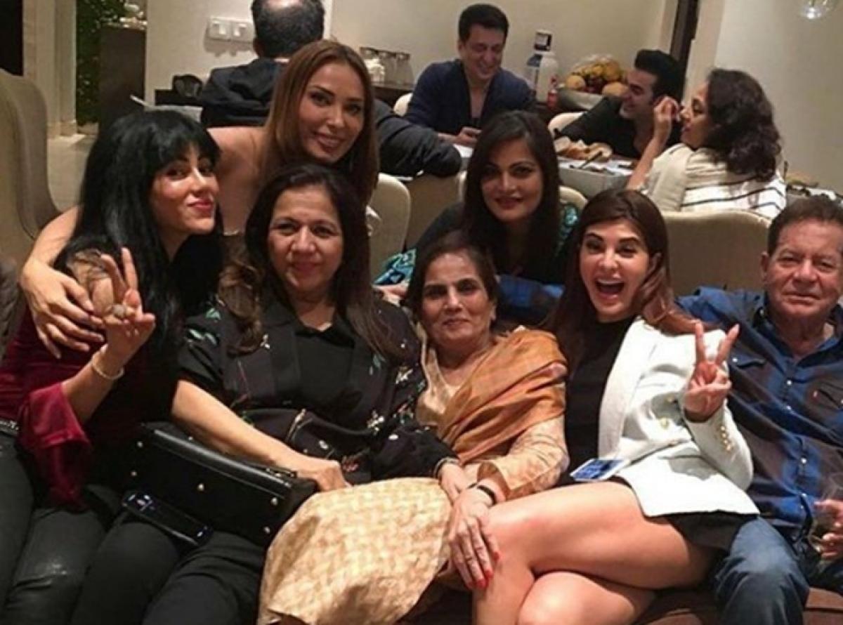 Salma Khan birthday bash pics: Salman Khan, Malaika Arora, Jacqueline Fernandez spotted at party; Katrina missing